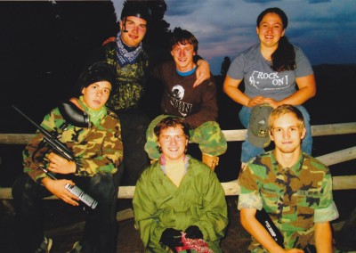 Trevor Paintball crew