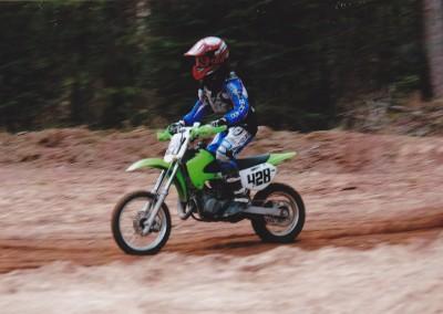 Trevor dirt bike