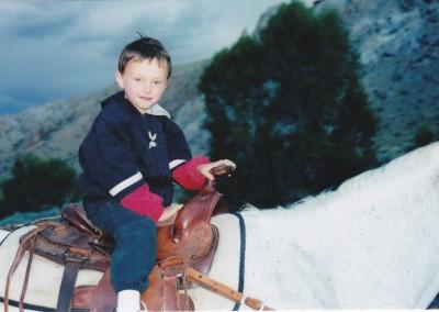 Trevor horseback